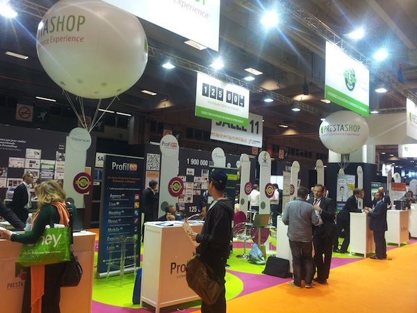 Village Prestashop - stand Profileo e-commerce Paris 212