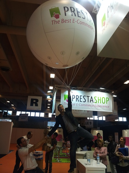 Prestashop s'envole à l'ecommerce Paris 2012